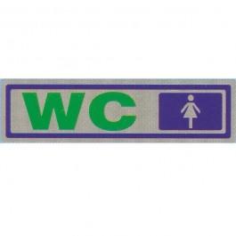 ΠΙΝΑΚΙΔΑ ΣΗΜΑΝΣΗΣ PVC CAST FILM ΑΥΤΟΚΟΛΛΗΤΟ WC ΓΥΝΑΙΚΩΝ WC από ΑΥΤΟΚΟΛΛΗΤΟ ΑΣΗΜΙ ειδη γραφειου, αναλωσιμα, γραφικη υλη - paperless.gr