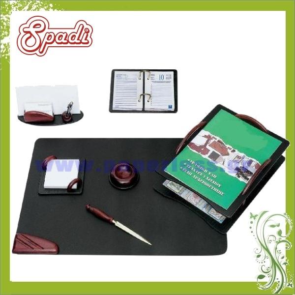 ΣΕΤ ΓΡΑΦΕΙΟΥ ΞΥΛΙΝΟ 7 ΤΕΜΑΧΙΩΝ Δίσκοι Γραφείου-Σετ Γραφείου ειδη γραφειου, αναλωσιμα, γραφικη υλη - paperless.gr