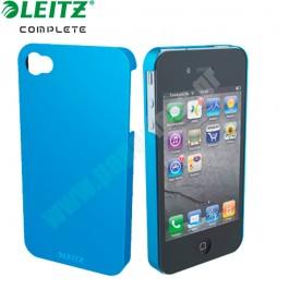 ΚΑΛΥΜΜΑ-ΘΗΚΗ ΜΕΤΑΛΛΙΚΗ iPhone 4/4s WOW LEITZ ΜΠΛΕ Θήκες κινητών τηλεφώνων-Tablets ειδη γραφειου, αναλωσιμα, γραφικη υλη - paperless.gr