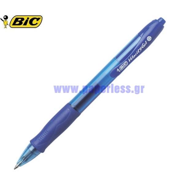 ΣΤΥΛΟ GEL VELOCITY 0.7mm BIC Στυλό Gel ειδη γραφειου, αναλωσιμα, γραφικη υλη - paperless.gr