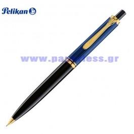 D400 SOUVERAN BLACK BLUE PENCIL PELIKAN ΜΟΛΥΒΙ Στυλογράφοι-Πένες ειδη γραφειου, αναλωσιμα, γραφικη υλη - paperless.gr