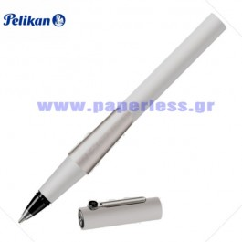 DION R42 WHITE ROLLER BALL PELIKAN ΣΤΥΛΟ Στυλογράφοι-Πένες ειδη γραφειου, αναλωσιμα, γραφικη υλη - paperless.gr