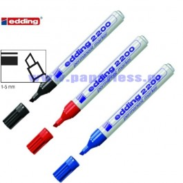 ΜΑΡΚΑΔΟΡΟΣ ΑΝΕΞΙΤΗΛΟΣ ΣΥΣΚΕΥΑΣΙΑΣ 2200 EDDING ~1-5mm Μαρκαδόροι Ανεξίτηλοι ειδη γραφειου, αναλωσιμα, γραφικη υλη - paperless.gr
