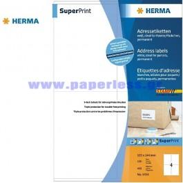 ΕΤΙΚΕΤΕΣ Laser/Copier/InkJet 105,0Χ144,0 100 ΦΥΛΛΑ 4454 HERMA Χάρτινες ετικέτες ειδη γραφειου, αναλωσιμα, γραφικη υλη - paperless.gr