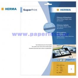 ΕΤΙΚΕΤΕΣ Laser/Copier 210,0χ297,0  25 ΦΥΛΛΑ 4909 HERMA GLOSSY Χάρτινες ετικέτες ειδη γραφειου, αναλωσιμα, γραφικη υλη - paperless.gr