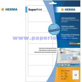 ΕΤΙΚΕΤΕΣ Laser/Copier/InkJet  96,5Χ 42,3  25 ΦΥΛΛΑ 5056 HERMA Χάρτινες ετικέτες ειδη γραφειου, αναλωσιμα, γραφικη υλη - paperless.gr