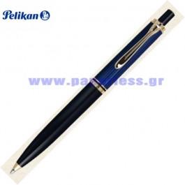 K400 SOUVERAN BLACK BLUE BALL PEN PELIKAN ΣΤΥΛΟ Στυλογράφοι-Πένες ειδη γραφειου, αναλωσιμα, γραφικη υλη - paperless.gr