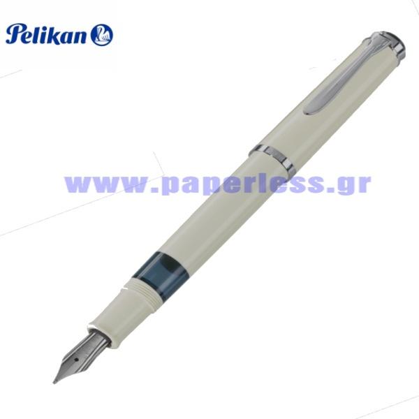 M205 WHITE FOUNTAIN PEN PELIKAN ΠΕΝΑ Στυλογράφοι-Πένες ειδη γραφειου, αναλωσιμα, γραφικη υλη - paperless.gr