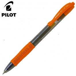 ΣΤΥΛΟ GEL G-2 0.7mm FINE PILOT ΠΟΡΤΟΚΑΛΙ 12 τεμάχια Στυλό Gel ειδη γραφειου, αναλωσιμα, γραφικη υλη - paperless.gr