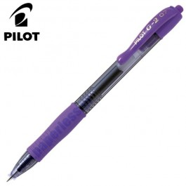 ΣΤΥΛΟ GEL G-2 0.7mm FINE PILOT ΜΩΒ 12 τεμάχια Στυλό Gel ειδη γραφειου, αναλωσιμα, γραφικη υλη - paperless.gr
