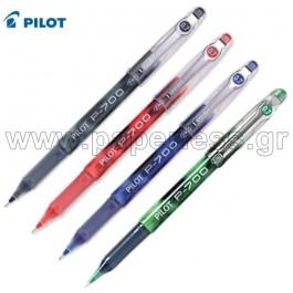 ΣΤΥΛΟ GEL P-700 FINE 0.7mm PILOT 12 τεμάχια Στυλό Gel ειδη γραφειου, αναλωσιμα, γραφικη υλη - paperless.gr