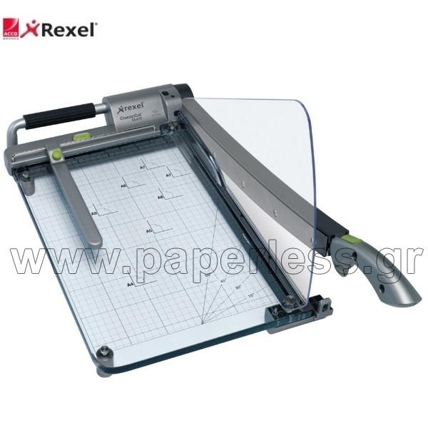 ΚΟΠΤΙΚΟ ΓΚΙΛΟΤΙΝΑ  39εκ. Α4+ CLASSICCUT PRO REXEL Κοπτικά - Γκιλοτίνες ειδη γραφειου, αναλωσιμα, γραφικη υλη - paperless.gr