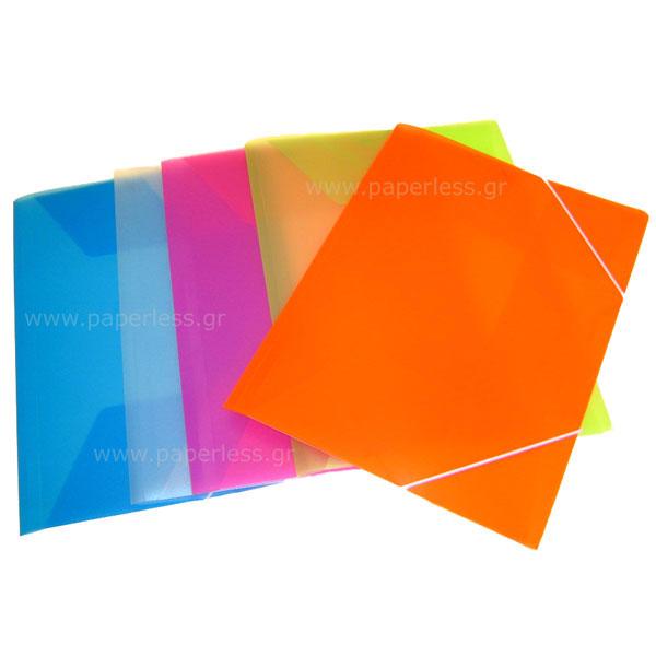 ΝΤΟΣΙΕ ΜΕ ΑΥΤΙΑ ΚΑΙ ΛΑΣΤΙΧΟ ΠΛΑΣΤΙΚΟ PP SPADI Ντοσιέ - Δίφυλλα ειδη γραφειου, αναλωσιμα, γραφικη υλη - paperless.gr