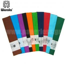 ΧΑΡΤΙ ΓΚΟΦΡΕ 50x200εκ ΑΜΠΑΖΟΥΡ - ΚΑΤΑΣΚΕΥΩΝ WEROLA Ζωγραφική - Χειροτεχνία ειδη γραφειου, αναλωσιμα, γραφικη υλη - paperless.gr