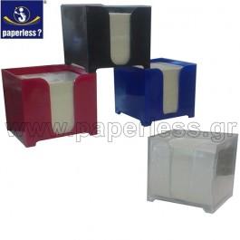 ΚΥΒΟΣ ΣΗΜΕΙΩΣΕΩΝ ΠΛΑΣΤΙΚΟΣ PVC ΚΕΝΟΣ Κύβοι - Χαρτιά Σημειώσεων ειδη γραφειου, αναλωσιμα, γραφικη υλη - paperless.gr