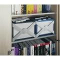 ΘΗΚΗ ΚΡΕΜAΣΤΩΝ ΦΑΚΕΛΩΝ Α4 DURABLE ΓΚΡΙ Κρεμαστοί Φάκελοι ειδη γραφειου, αναλωσιμα, γραφικη υλη - paperless.gr